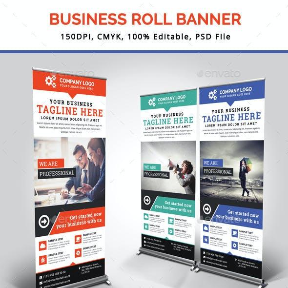 Business Roll Up Banner V18
