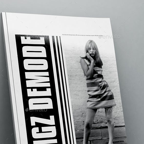 Demode Magazine Template 40 Pages