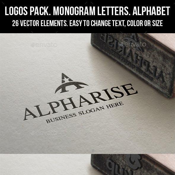 Letter Logos Pack