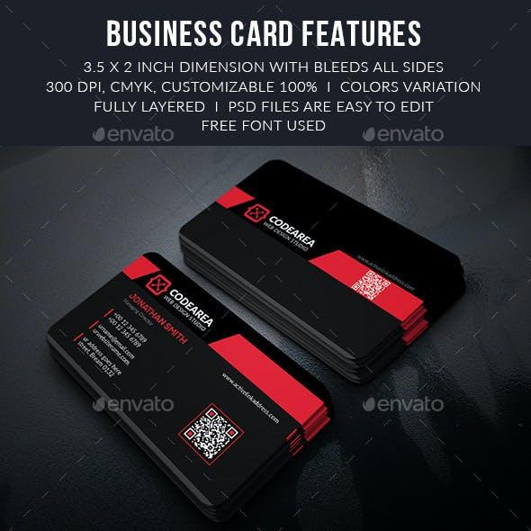Codearea Modern Business Cards