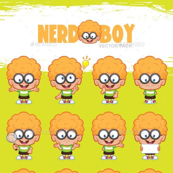 Nerd Boy Vector Pack