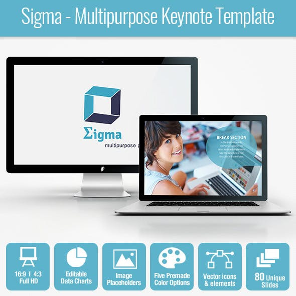 Sigma - Multipurpose Keynote Template