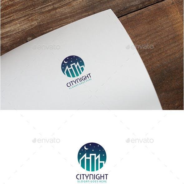 City Night Logo by 3ab2ou