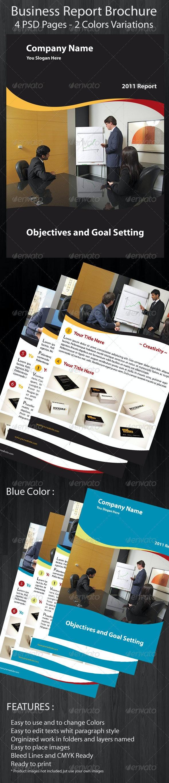 Business Brochure Report - Corporate Brochures