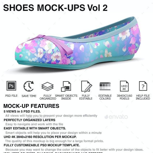 Shoes Mockup - Woman Shoes Mockups