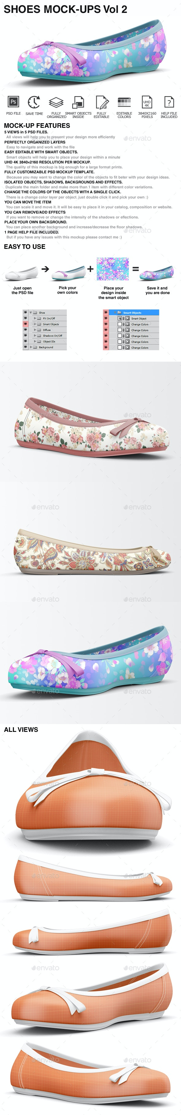 Shoes Mockup - Woman Shoes Mockups - Miscellaneous Apparel