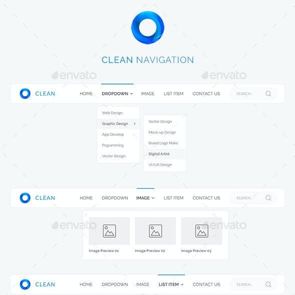 Clean Navigation