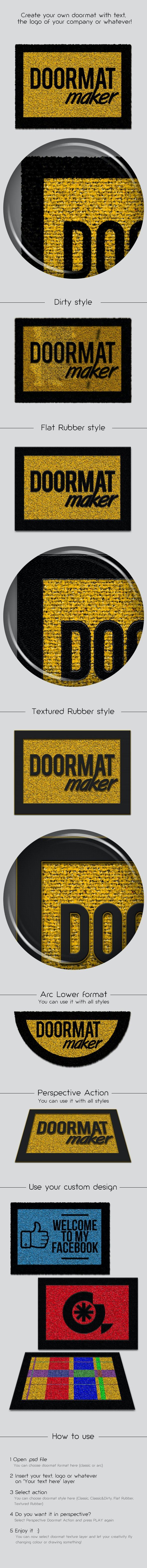 Doormat Maker - Utilities Actions
