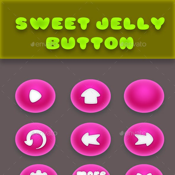 Sweet Jelly Button Games