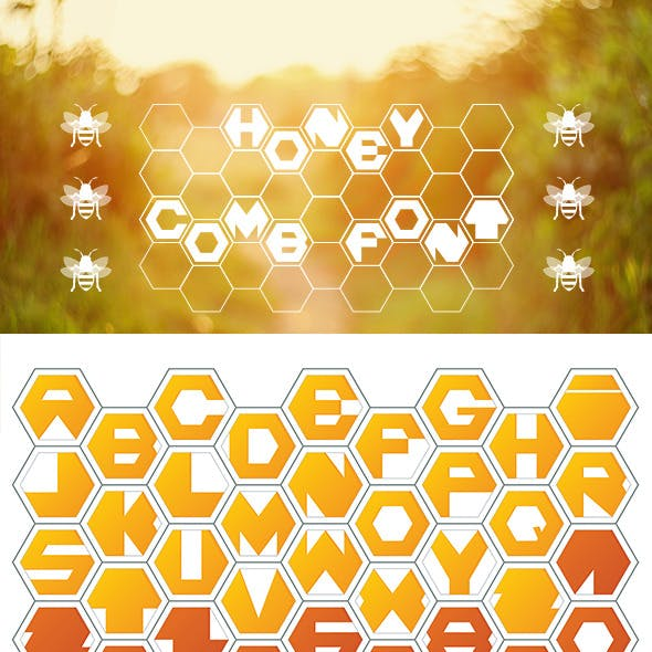 Honey Comb Font