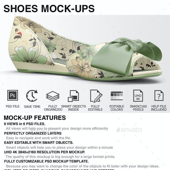 Shoes Mockup - Woman Shoes Mockups Vol 3