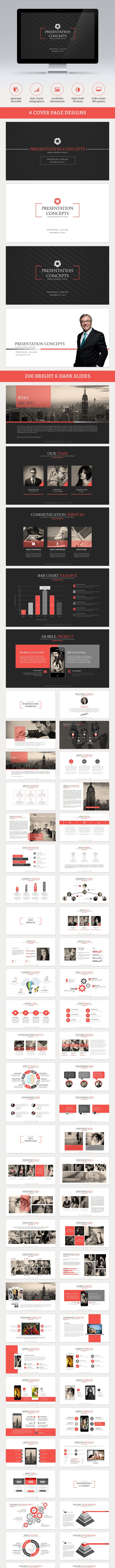 Axis Powerpoint Template - Business PowerPoint Templates