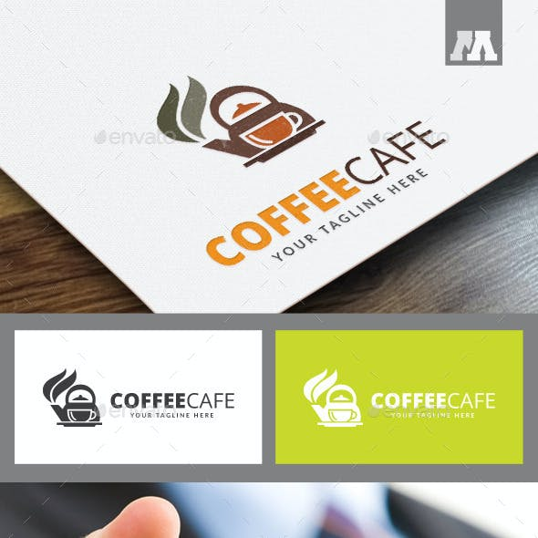 Coffee Cafe Logo Template