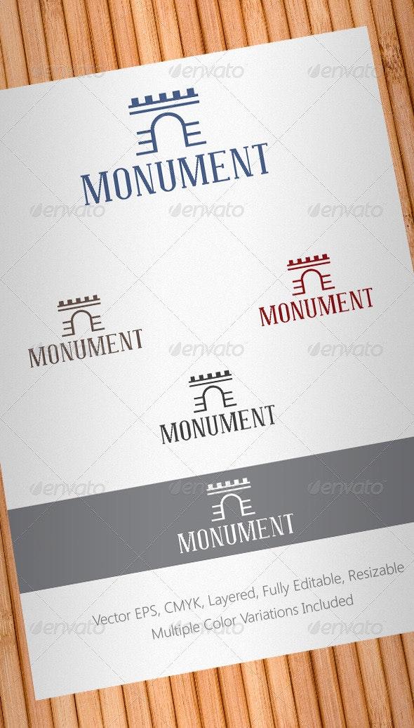 Monument Logo Template - Buildings Logo Templates