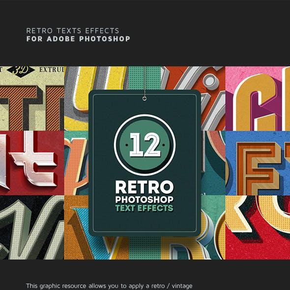 Retro Text Effects Vol.01