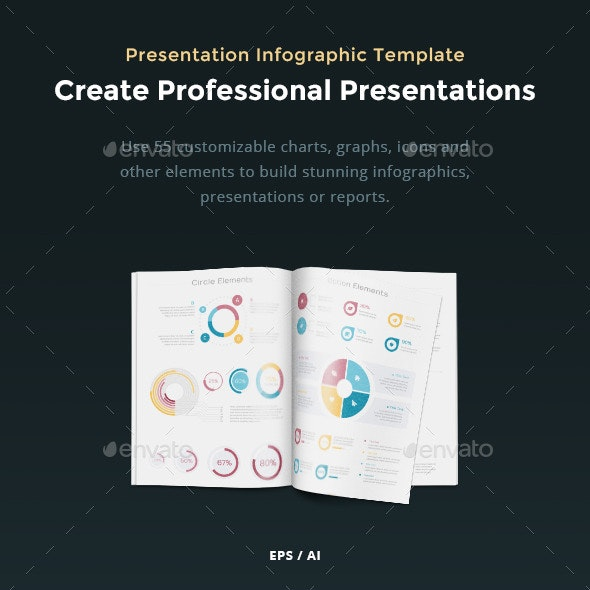Presentation Infographic Template - Vector Pack - Infographics