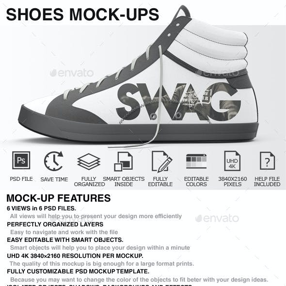 Shoes Mockup - Sneakers Shoes Mockups