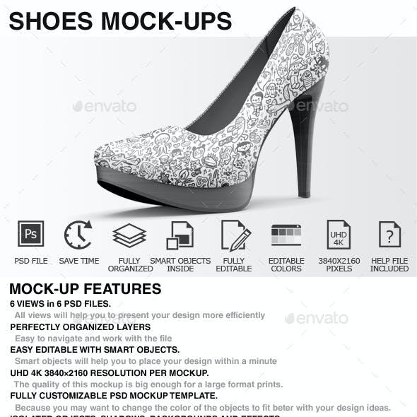 Shoes Mockup - High Heels Mockup