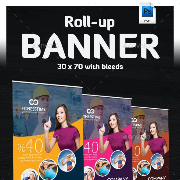 Takatuka - Business Roll Up Banner