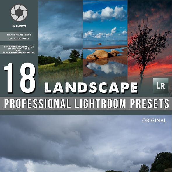 18 Professional Landscape Lightroom Presets