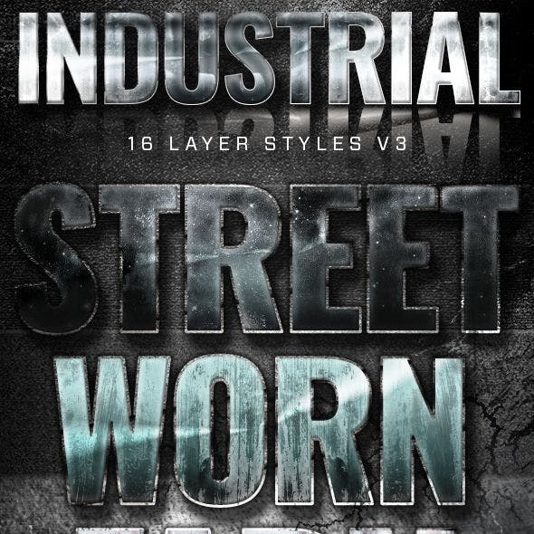 16 Industrial Layer Styles v3
