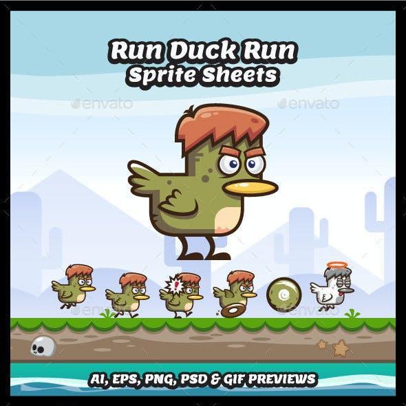 Run Duck Run Sprites