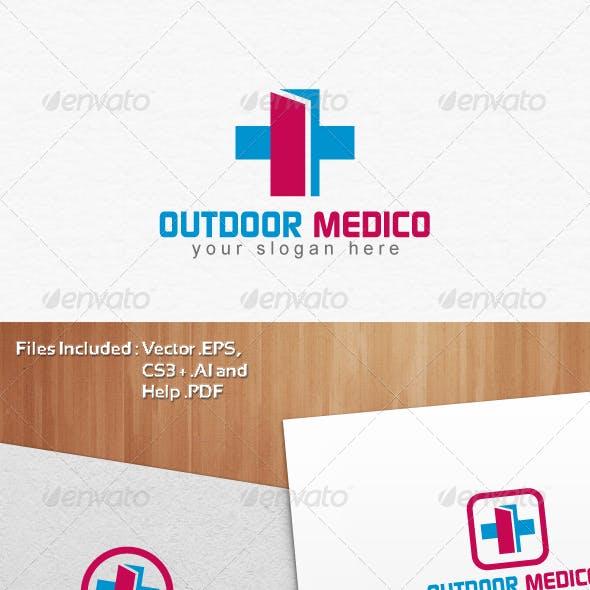 Outdoor Medico Logo Template Design