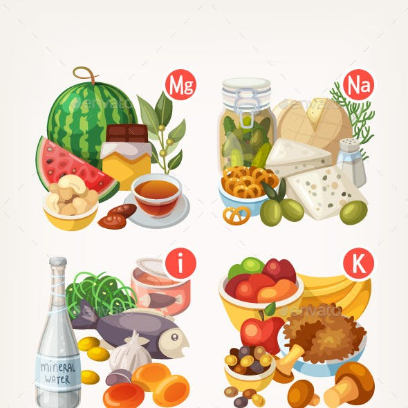 Products Rich with Vitamins and Minerals