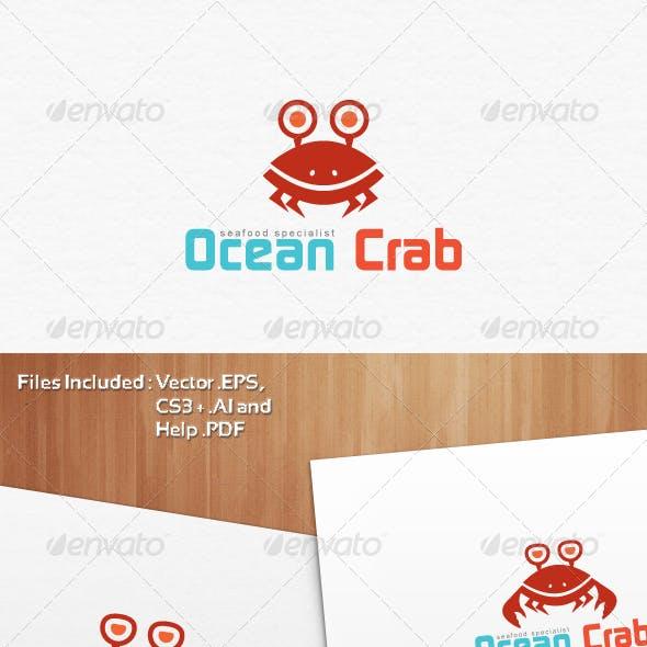 Ocean Crab Mascot Logo Templates