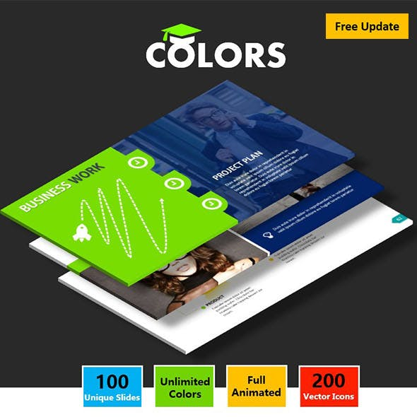 COLORS -  Google Slides Business Presentation