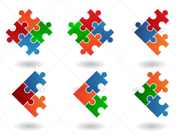 jigsaw icons - Miscellaneous Icons