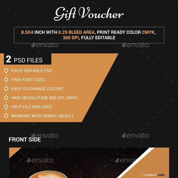 Cafeteria Gift Voucher