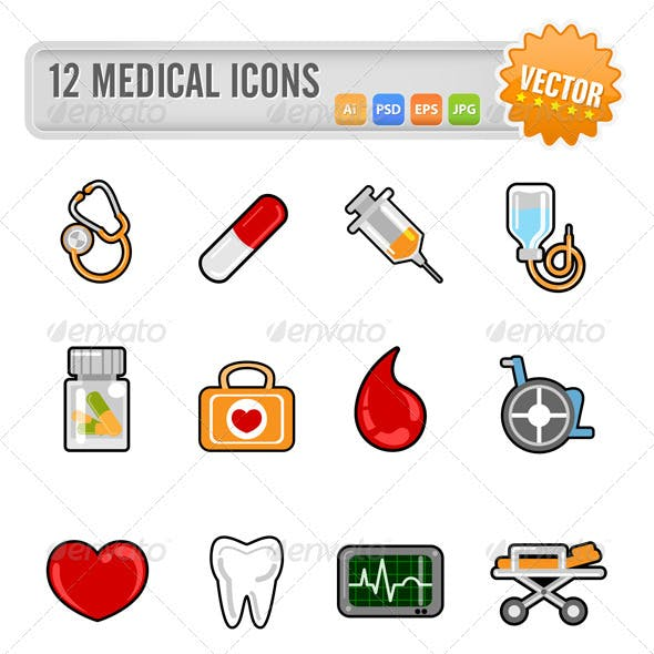 12 Medical Icons