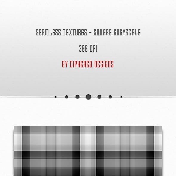 Seamless Textures - Square Greyscale
