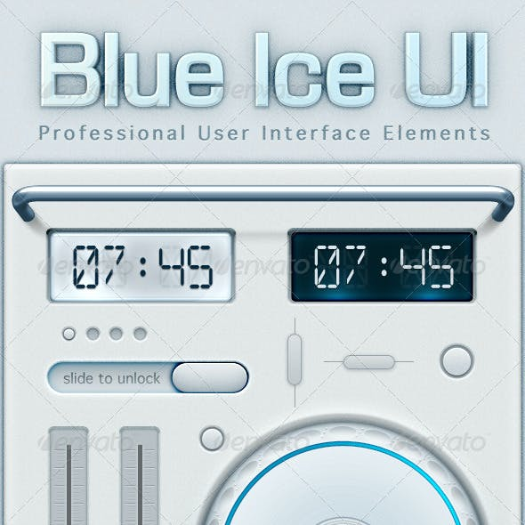 Blue Ice User Interface Elements