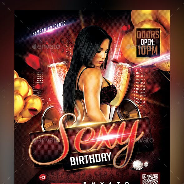 Sexy Birthday Flyer