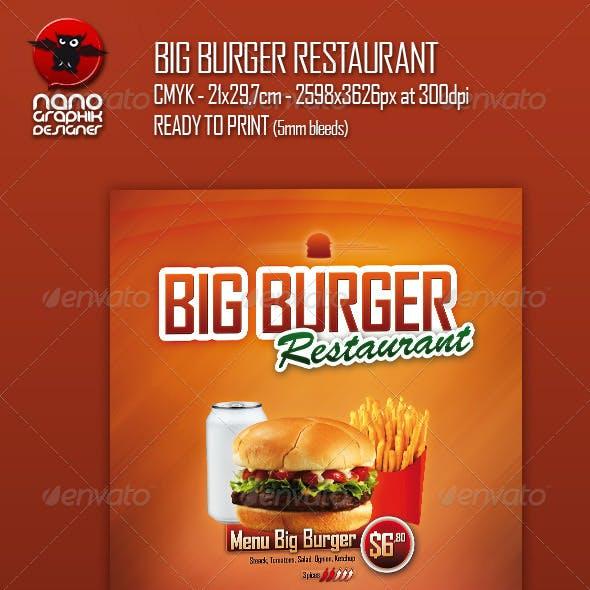 Big Burger Restaurant