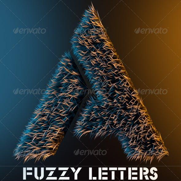 Fuzzy Alphabet