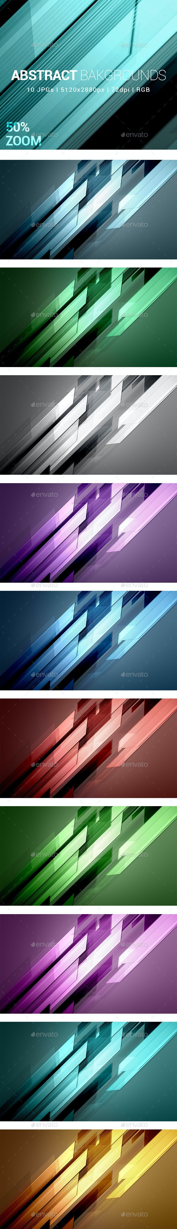 10 Abstract Backgrounds - Abstract Backgrounds