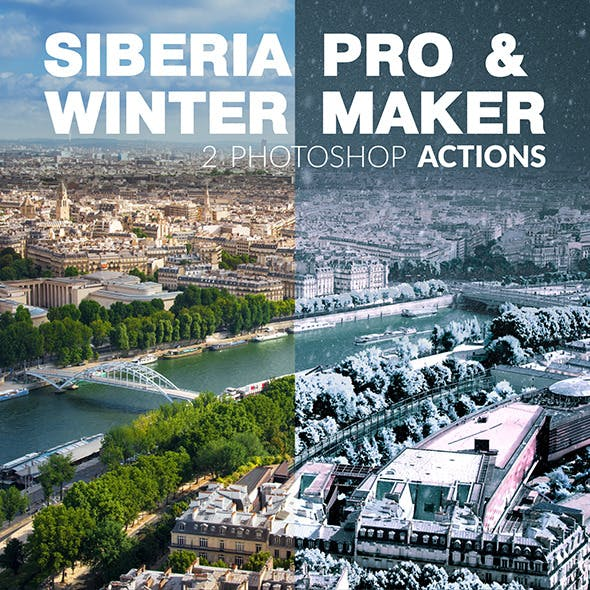 Siberia Pro Photoshop Actions