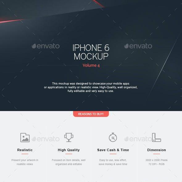 Iphone 6 Mockup V.4