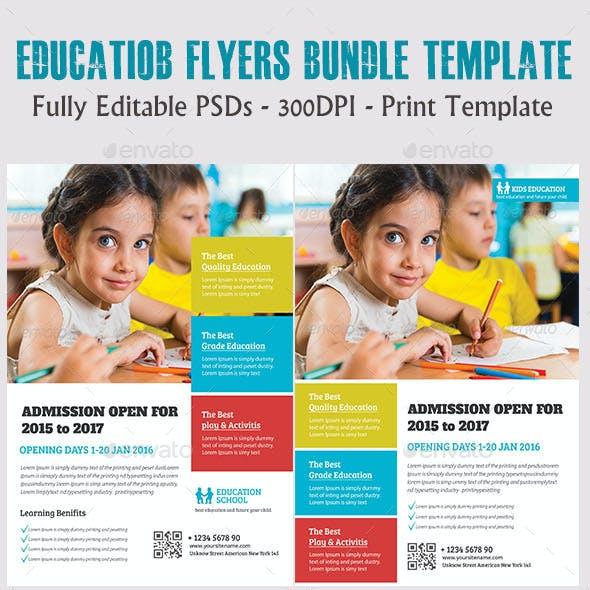 Education Flyers Bundle