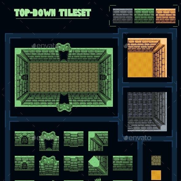 Top-Down Game Tileset