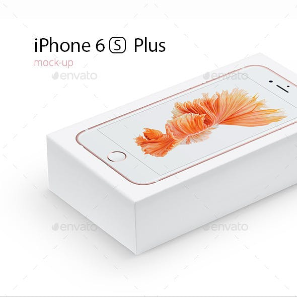 iPhone 6S Plus Mock-up