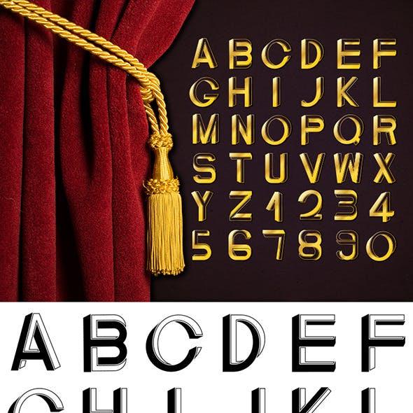 Art Deco Impossible Font