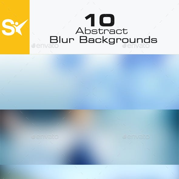 10 Blur Backgrounds Vol.2