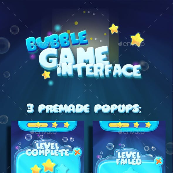 Bubble Water GUI Asset