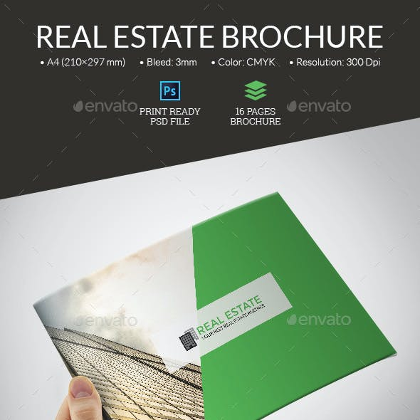 Real Estate Portfolio Brochure
