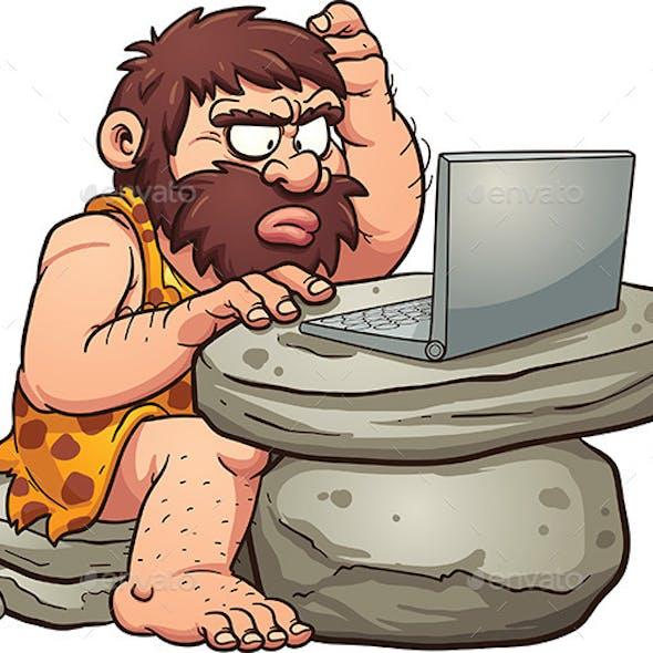 Computer Caveman