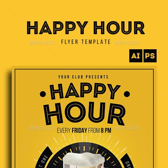 Happy Hour Beer Promotion